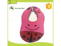 NB006-Bettle design baby bib