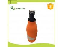 BC019- Orange beer bottle cooler