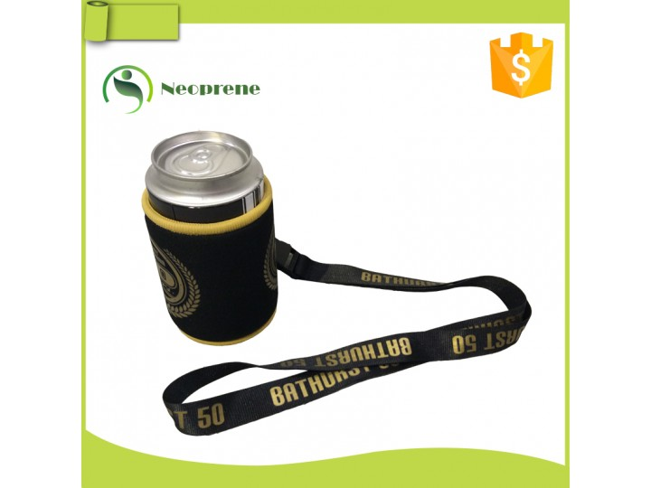 SH019- Stubby holder with lanyard