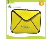 LS010- Yellow neoprene laptop sleeve