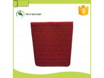 IS009- Red neoprene Ipad sleeve