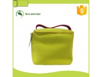 LB014- Yellow neoprene lunch bag
