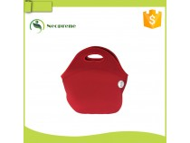 LB018- Red neoprene lunch bag