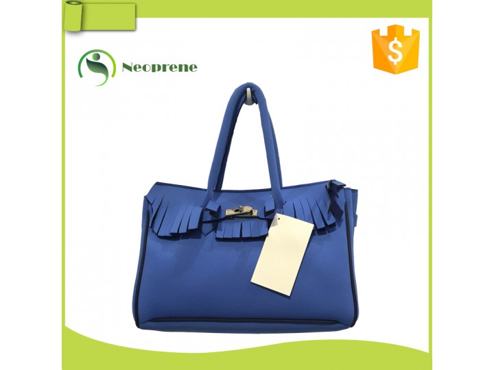 NLB001- Blue neoprene lady bag